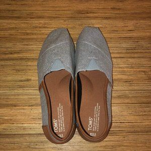 Toms Men's Classic Alpargata - Grey/Leather